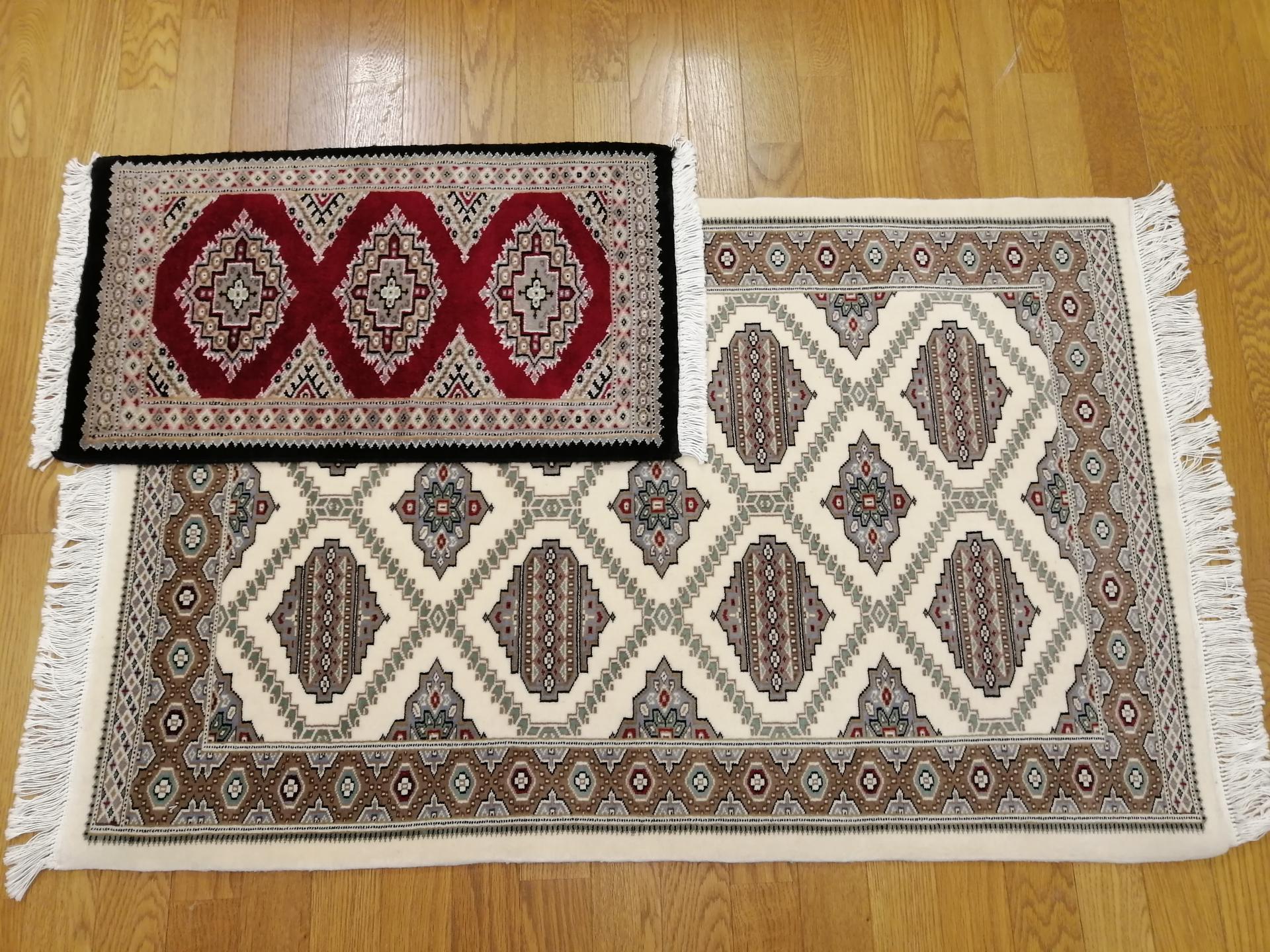 手織り絨毯 パキスタン絨毯 100,000円