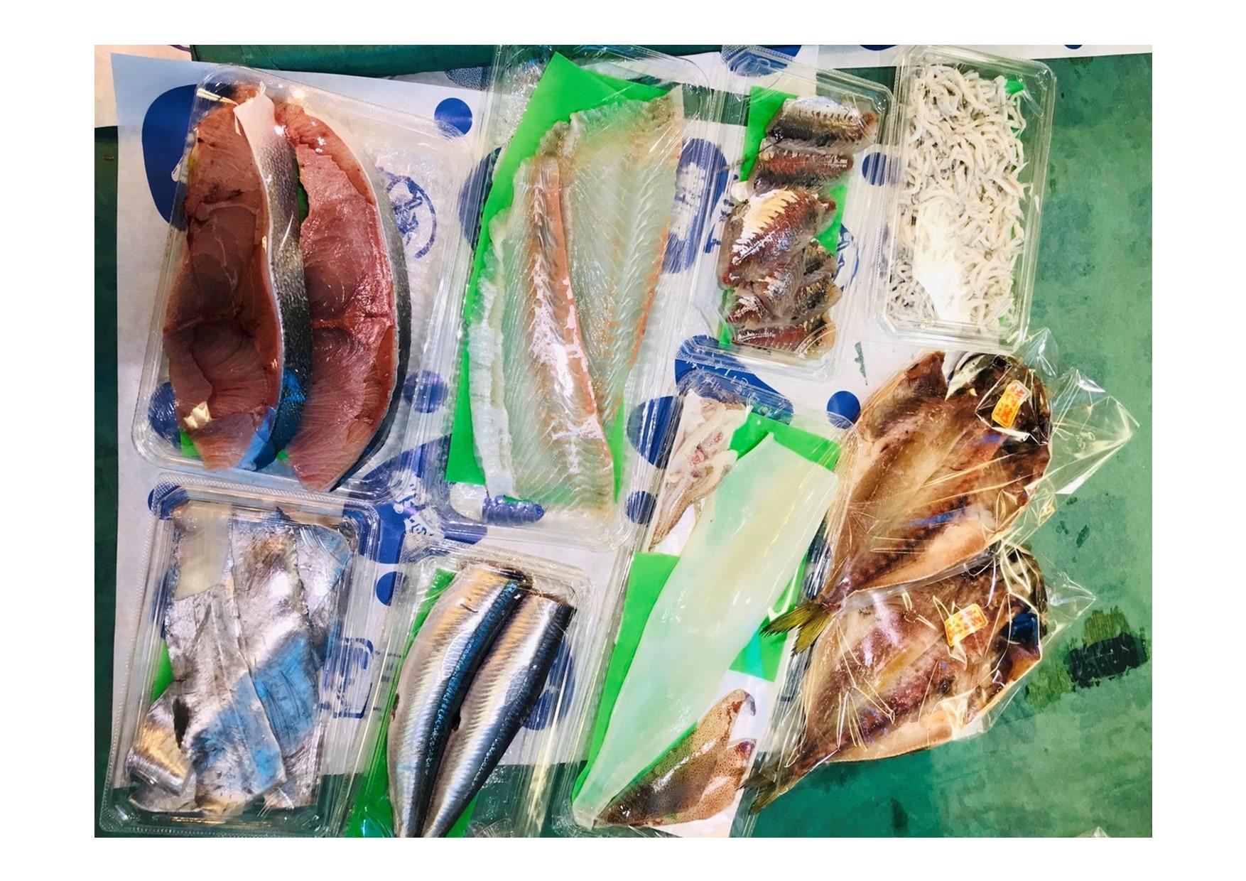 魚國の鮮魚セット5000円